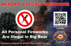 Big Bear Fire Department Illegal Fireworks Reporting System