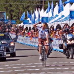 Sylvain Georges of AG2R La Mondiale in a solo climb win's the 2012 Amgen Climb to Big Bear