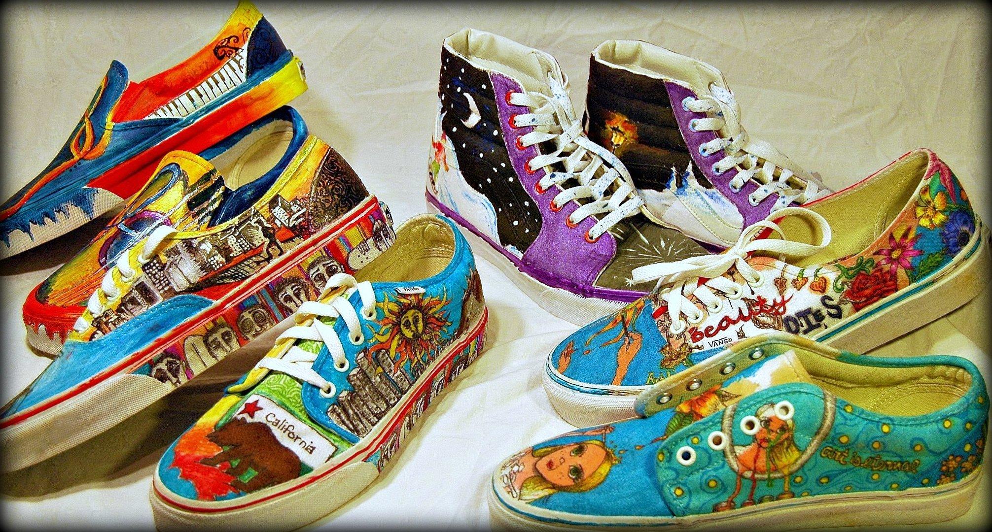 bc7e052a4c08 Big Bear High School Art Program Needs Votes In Vans Shoe Contest To Win   50
