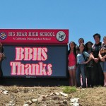 Big Bear High School Unveils New Marquee Purchased by PSA