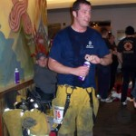Local Firefighters Curtis and Turner Tackle 69 Flights of Stairs in Competition to Benefit Blood Cancer Research