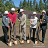 "Ground Breaking for New ""Brenda Boss Family Resource Center"""