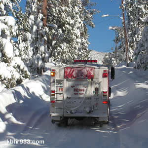 The Big Bear Lake Fire Protection District has also increased staffing to get through the storms.