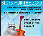 "Moonridge Animal Park Fundraiser ""Blues for the Zoo"" August 7, 2010"