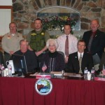 Big Bear Sheriff's Station's Rios, Harris and Siebert Honored by City Council for Heroic Efforts