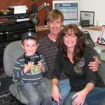 4 Year Old Clayton Caughey Visits The Studios Of KBHR