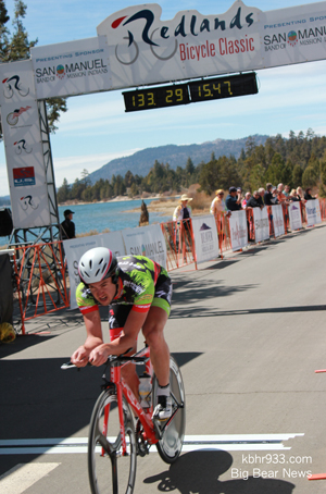Connor McCutcheon, Redlands Classic Stage Race, Big Bear Time Trial