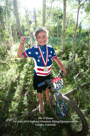 Elle Williams 2010 MTB National Champion Granby Colorado