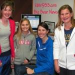Amanda Dye, Rachel Shoemaker, and Erika Shoemaker Visit The KBHR Studios!