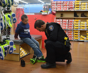 15th Annual 'Shop With A Cop' Holiday Program Underway