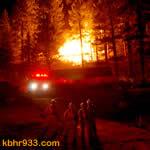 Fawnskin Blaze Destroys Cabin, Prompts Overnight Closure of Highway 38