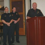 Big Bear Lake Firefighters Schwing, Barbour, Peterson, Jayne and Geary Honored With Lifesaver Ribbon