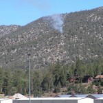 Breaking News: Small Fire on North Shore Hillside on San Bernardino National Forest