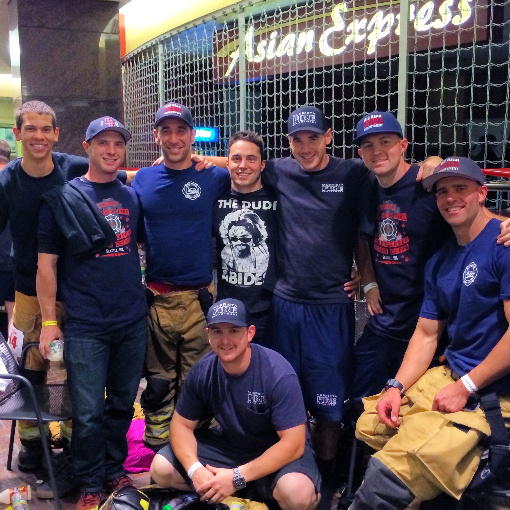 Big Bear Firefighters Climb for Leukemia & Lymphoma Society!