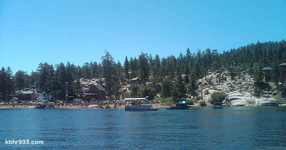 Big Bear's emergency personnel responded to the incident on Boulder Bay, which was called in just before the 11am hour.