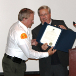 Kent Kessler Recognized by City Council for Graffiti Removal Efforts