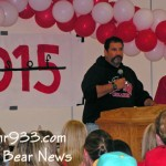 "BBHS ""Freshman Friday"" and Restoration of Quad's Carved Bear"