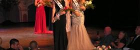Miss Teen Big Bear Brandy Murphy (L) and Miss Big Bear Marcella Pfiefer enjoy the spotlight.