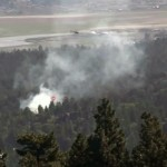 Small Vegetation Fire In Moonridge Area