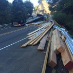 Overturned Truck on Highway 38 Forces Full Closure
