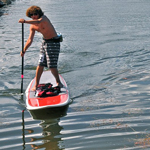 Standing Up & Paddling Is A Fun New Way To Get Around On The Water