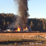 Major Structure Fire At Riffenburgh Lumber Yard
