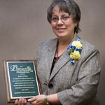 Robin O'Hare Presented With San Bernardino County Distinguished Service Award