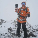 Jordan Romero atop Mt. Humphreys this month; in March, he departs for his climb of Mt. Everest at 29,029 feet!