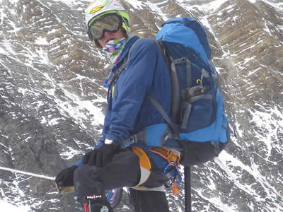 Big Bear's Jordan Romero on Mt. Everest at 23,000'