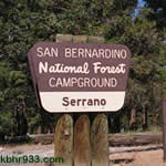 Arrest Made at Serrano Campground for Attempted Murder
