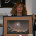 "Shirley Martin's Charcoal Paintings Now Featured at ""The Gallery"""