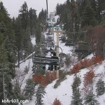 """Big Bear Receives More Snow, Though """"Snow Conditions"""" Lifted Tuesday Morning; Extra Sessions at Ski Resorts"""