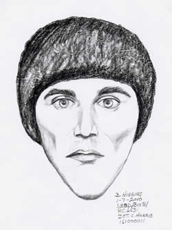 Wanted: The Sheriff's Department is trying to locate this man, a snowboarder involved in an on-the-slopes accident at Bear Mountain on Saturday, January 2. Anonymous tips can be called in to 1-800-78-CRIME.