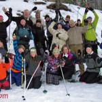 Kids Young & Old Enjoy A Full Moon Snowshoe