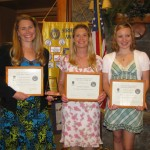 Soroptimists' Celebration of Women Honors Diane Sloan Kubeja, Jennifer Cookson and Tabitha Oogjen
