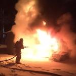 Big Bear Lake Residence Burns Early Thursday Morning