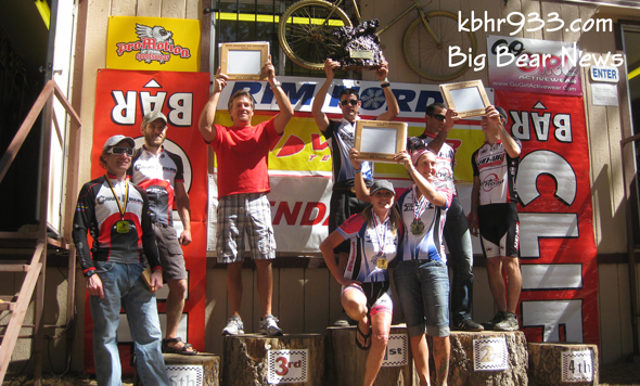 Team overalls : 1st -Bear Valley Bikes, 2nd: Sho Ai, 3rd: Chain's Required