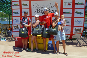 Top male and female competitors in Conquer the Bear (Ted & Heather Devito) And Conquer the Cub (Jimmy Johnson and Michelle Russell)