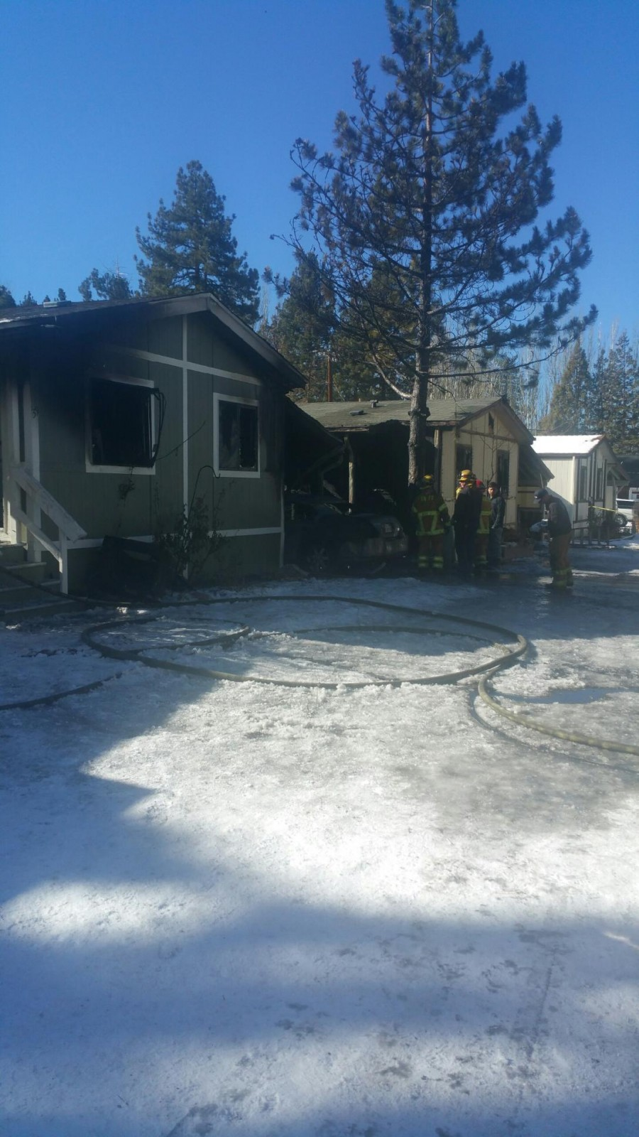 Early Morning Big Bear Lake Fire Claims Four Lives