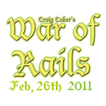 Craig Coker's War of Rails This Saturday: Fundraiser For Nigel Holland