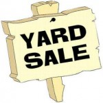 Yard Sale Permits Required For City Residents