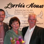 "Dedication of DOVES Shelter as ""Lorrie's House"""