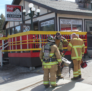 Two Separate Restaurant Fires Reported Within Two Hours.