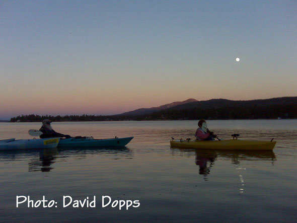 Full Moon Paddle - Photo David Dopps