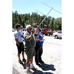 Photo courtesy Big Bear Amateur Radio Club