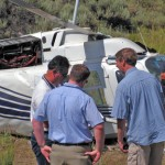 Helicopter Crash at Big Bear City Airport Causes Minor Injuries to the Pilot But the Helicopter is Totaled