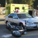 Emergency Personnel Divert Boulevard Traffic, Following Monday Evening Accident