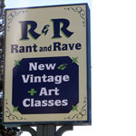 Reusing Recycling and Art at R&R Rant and Rave