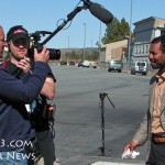 Sugar Shane Mosley Filming With Showtime at the Big Bear City Airport