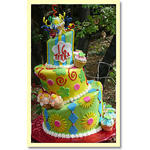 Topsy Turvy Cake by Trish Gordon of Sugar Pine Bake Shop